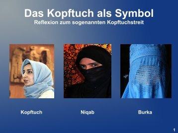 Das Kopftuch als Symbol