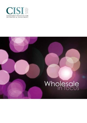 Wholesale In Focus