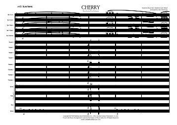 Cherry Published Score - Lush Life Music