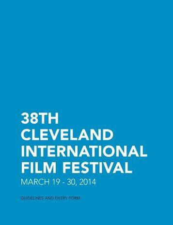 Download Adobe PDF format - Cleveland International Film Festival