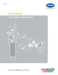 Parts Manual HOLLAND Landing Gear - CBS Parts Ltd.