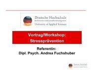 Vortrag von Dipl.-Psych. Andrea Fuchshuber - PTK Bayern