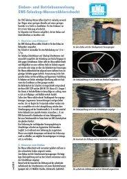 Wasserzähler-Teleskop-Schacht - Ewe