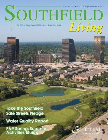 Southfield Living Spring / Summer 2013 - City of Southfield