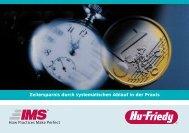 Zeitersparnis durch systematischen Ablauf in der Praxis - Hu-Friedy
