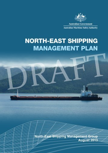 North-East Shipping Management Plan - Australian Maritime Safety ...