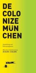 Decolonize München - Münchner Stadtmuseum