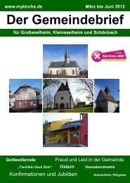 Download Gemeindebrief März bis Juni 2013 - Xn--grosskleinschn ...