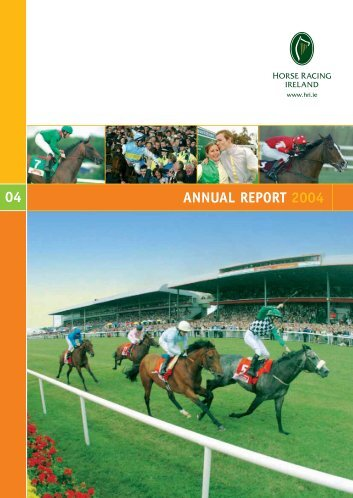 ANNUAL REPORT 2004 04 - Horse Racing Ireland