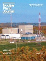 Nuclear Plant Journal Nuclear Plant Journal - Digital Versions