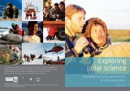 Download Brochure Exploring Polar Science - IASC