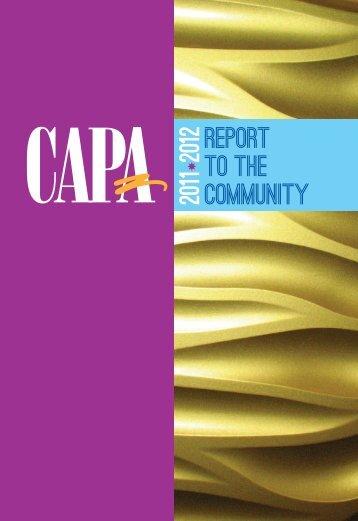 Report to the Community - Capa.com
