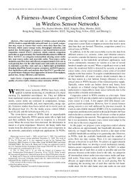 A Fairness-Aware Congestion Control Scheme in Wireless Sensor ...