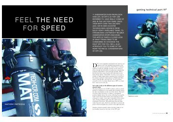 Feel the need for speed, DPV Article- Sport Diving ... - Tech-ccr.com