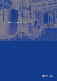 ANNUAL REPORT 2006 - Triplan AG