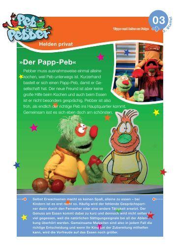 Der Papp-Peb« - Kinderwelt-Bewegungswelt.de