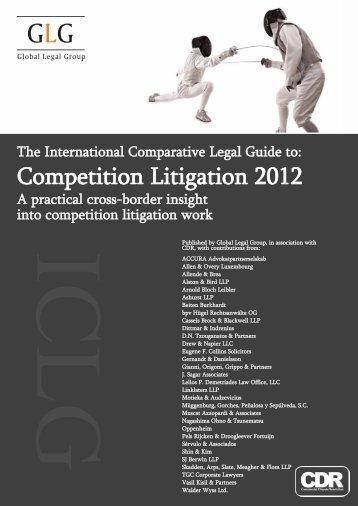 Competition Litigation 2012 - Gianni, Origoni, Grippo, Cappelli ...