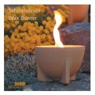 Schmelzfeuer Wax Burner