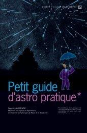 Petit guide d'astro pratique - Palais de la découverte