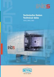 Technische Daten Technical data