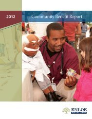 Community Benefit Report - Enloe Medical Center