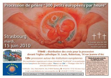 Strasbourg 15 juin 2010 - Kostbare Kinder