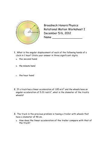 Worksheets Rotational Motion Worksheet collection of rotational motion worksheet sharebrowse rringband