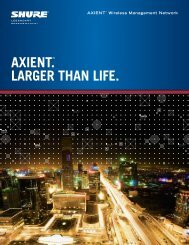 Axient_Product_Brochure.pdf - Now Sound