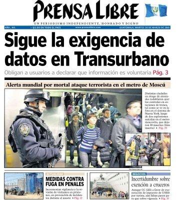 Obligan a usuarios a declarar que información es ... - Prensa Libre