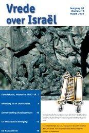 Jaargang 46 Nummer 2 Maart 2002 - Kerk en Israël