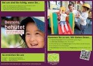zum Flyer des Elternbeirates - Kindergärten NordOst
