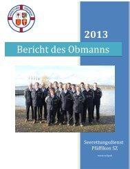 kompletter Bericht des Obmanns 2013 [PDF, 1.00 MB] - Gemeinde ...