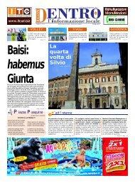 Baisi: habemus Giunta - La Voce del Nord Est Romano