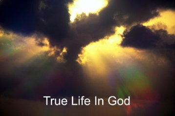 Prayercard 4 - True Life In God