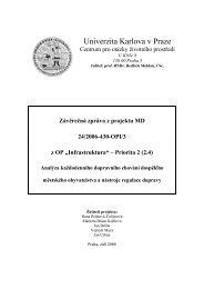 pdf (3 Mb) - Centrum pro otázky životního prostředí UK - Univerzita ...