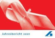 Jahresbericht 2001 - AIDS-Hilfe Wuppertal eV