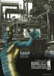 BEC Group - Bhilai Engineering Corporation