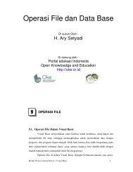 Sistem Pertidaksamaan Liniear Open Knowledge And