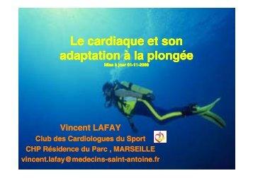 Le cardiaque et son adaptation à la adaptation à la plongée ...