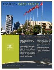 West Perth .pdf - City of Perth