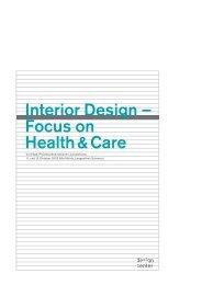 Interior Design – Focus on Health&Care - Caparol Farben AG