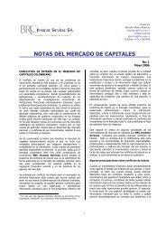 Conflictos de Interés en el Mercado de Capitales Colombiano