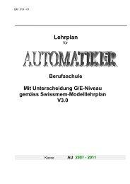 Lehrplan - msw-winterthur