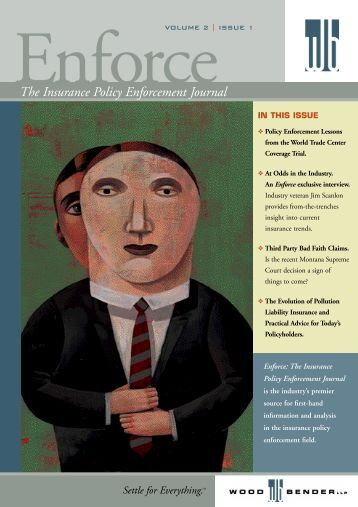 The Insurance Policy Enforcement Journal