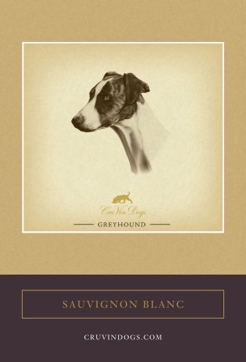 SAUVIGNON BLANC - Colorado Greyhound Adoption