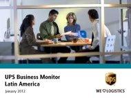 UPS Business Monitor Latin America - UPS Pressroom