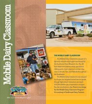See the Mobile Dairy Classroom Informational Brochure.