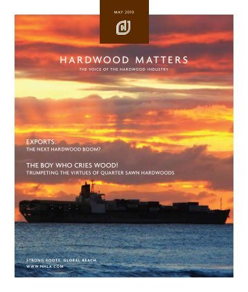 Hardwood Matters - National Hardwood Lumber Association