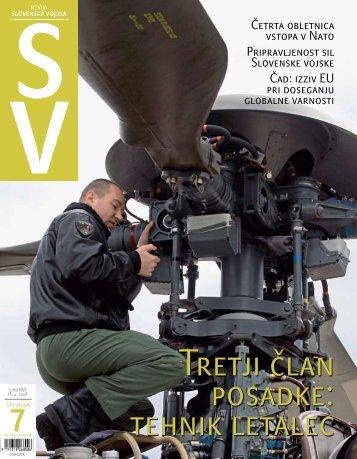 Letnik XVI/7 - Ministrstvo za obrambo