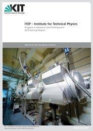 Review Research and Development 2010 - Institut für Technische ...